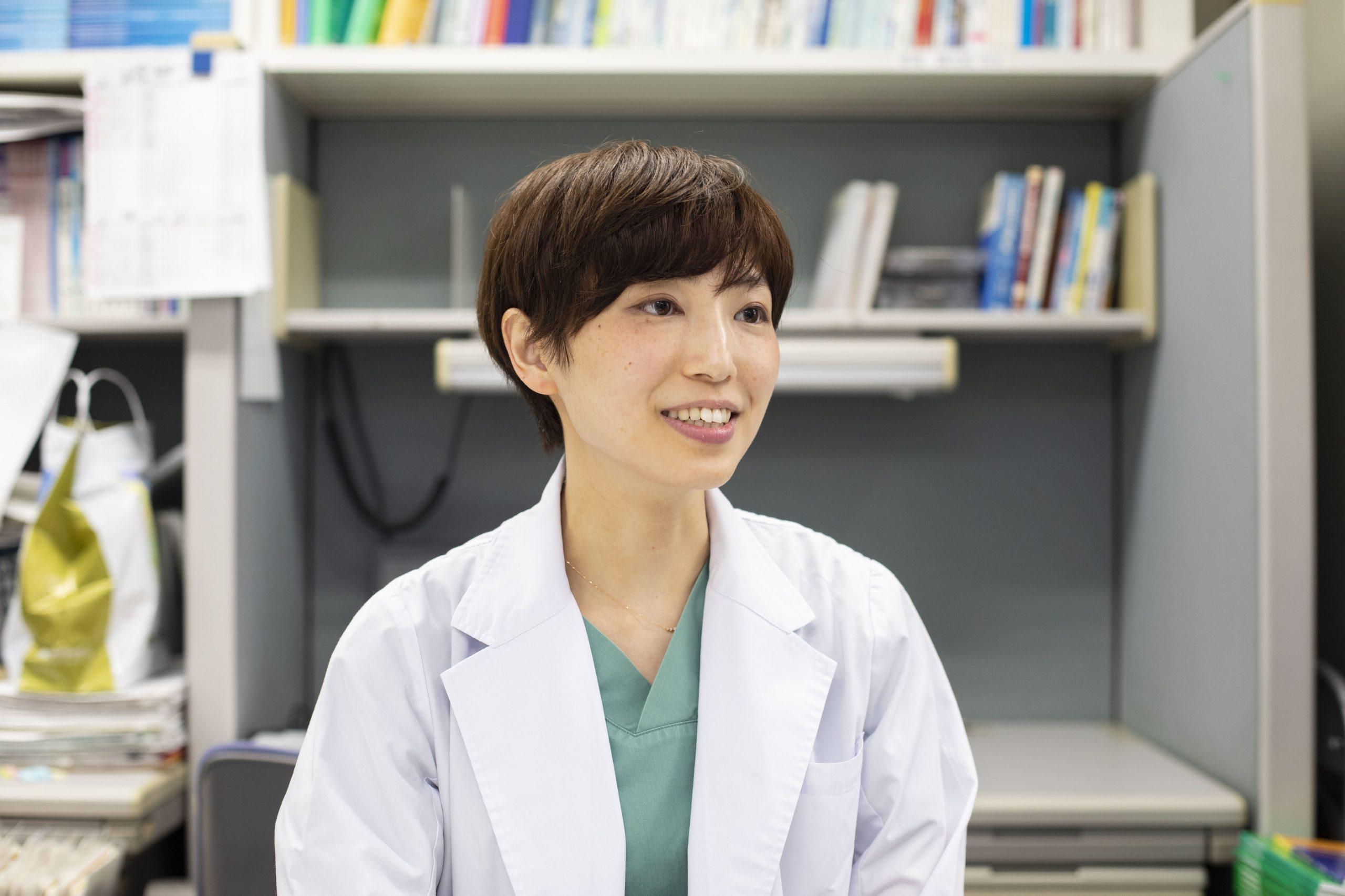 医療法人恵仁会松島病院 大腸肛門病センター医師 松島小百合先生