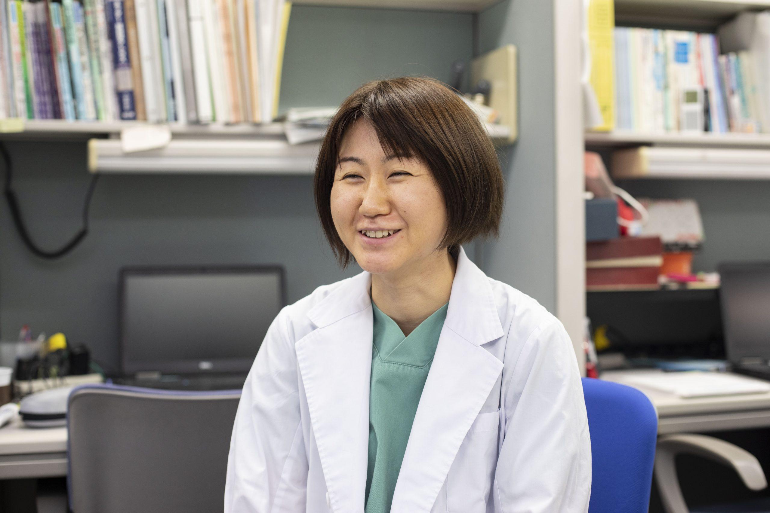 医療法人恵仁会松島病院 大腸肛門病センター医師 紅谷 鮎美先生